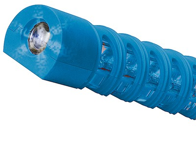 Baton Traffic Flare with Red & Blue LEDs (Single)
