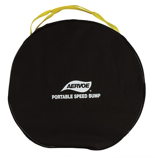 Aervoe Portable speed bump rolled and in Bag